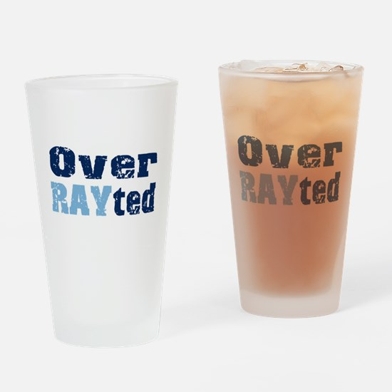 Over RAYted Pint Glass
