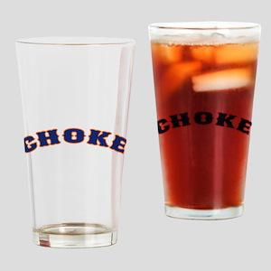 New York Chokes Pint Glass