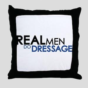 Dressage Throw Pillow