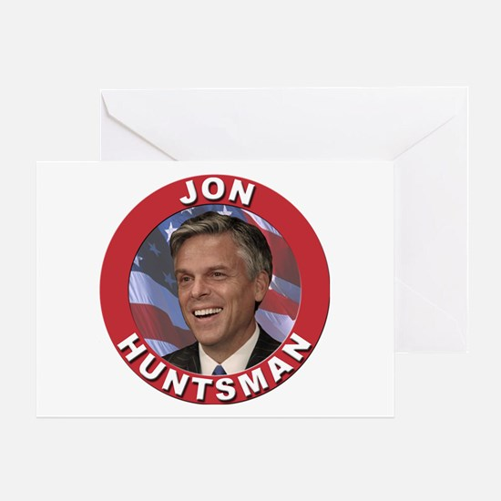 Jon Huntsman Greeting Card
