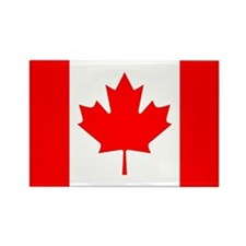 Canadian Flag Rectangle Magnet