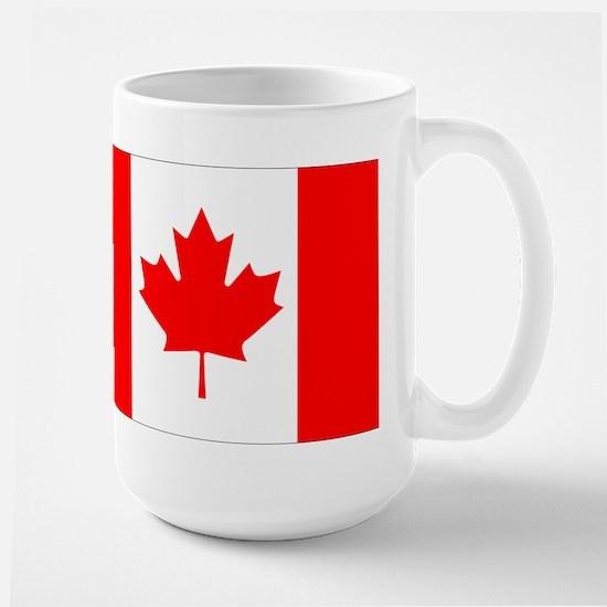 Canadian Flag Large Mug