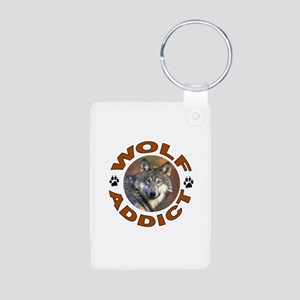 WOLVES Aluminum Photo Keychain
