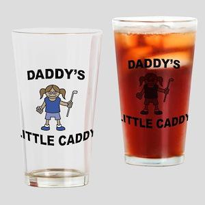 Daddy's Little Caddy (Girl) Pint Glass