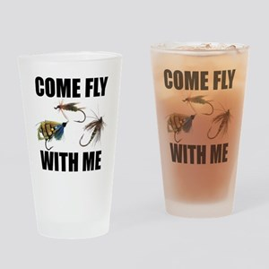 Come Fly With Me Pint Glass