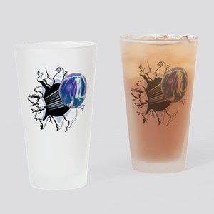 Breakthrough Bowling Ball Drinking Glass