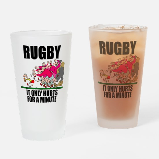 It Only Hurts Pint Glass