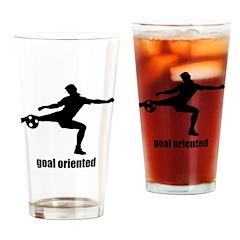 Goal Oriented Soccer Pint Glass