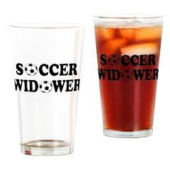 Soccer Widower Pint Glass