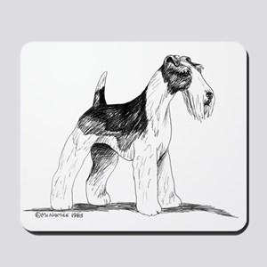 Wire Fox Terrier Mousepad