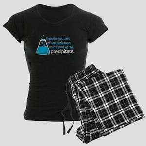Precipitate Women's Dark Pajamas