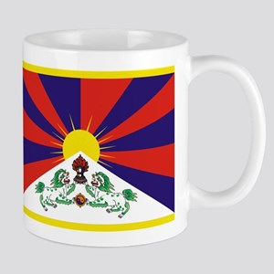 Tibetan Snow Lion Flag Mug