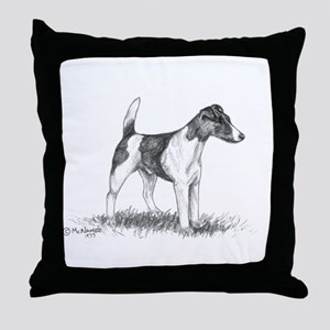 Smooth Fox Terrier Throw Pillow