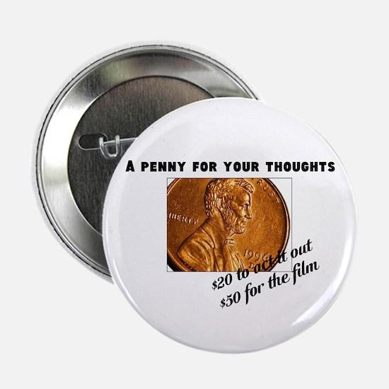 """Pennies 2.25"""" Button"""