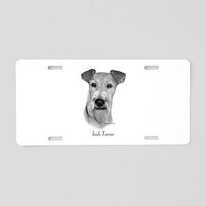 Irish Terrier Aluminum License Plate