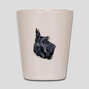 Scottish Terrier Alert! Shot Glass