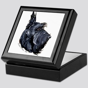 Scottish Terrier Alert! Keepsake Box