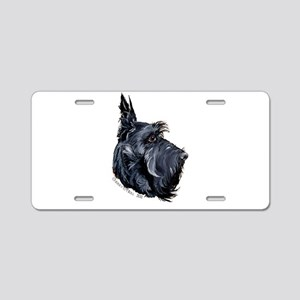 Scottish Terrier Alert! Aluminum License Plate