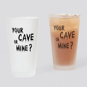 Your Cave or Mine? Pint Glass