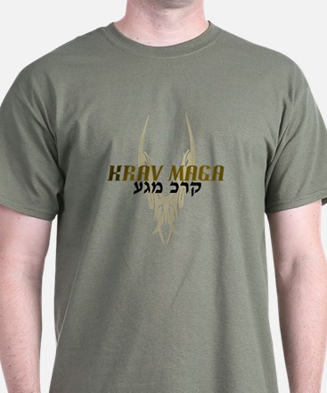 Krav Maga T-Shirt - Military Green