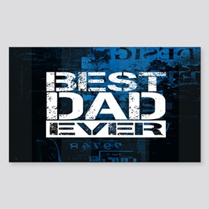 Best Dad Sticker (Rectangle)