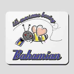 Awesome Being Bahamian Mousepad