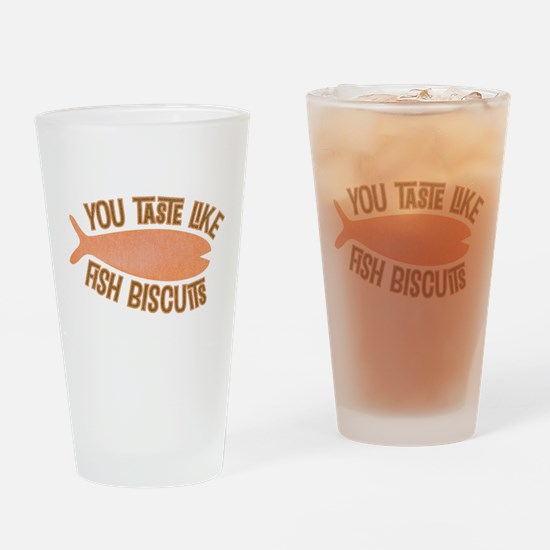 Taste Like Fish Biscuits Pint Glass