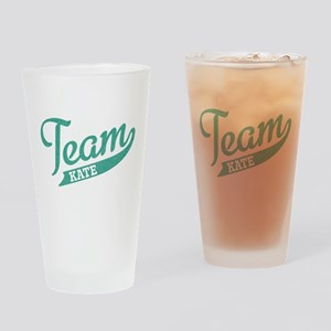 Team Kate Pint Glass