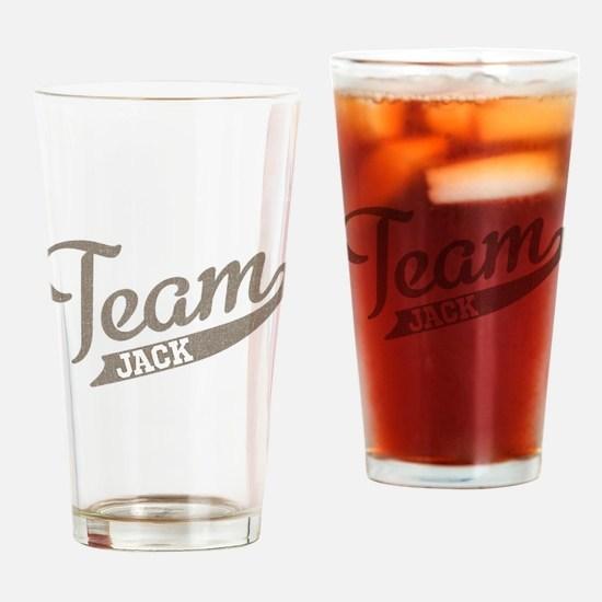Team Jack Pint Glass