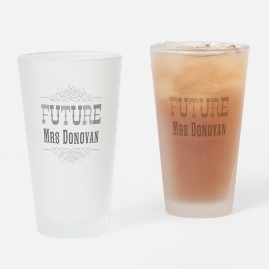 Personalized Future Mrs Pint Glass