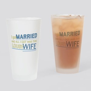Lousy Wife Pint Glass