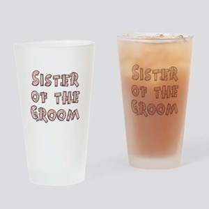 Country Sister of the Groom Pint Glass