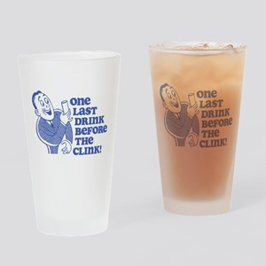 Drink Before Clink Pint Glass