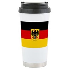 German Government Flag Stainless Steel Travel Mug