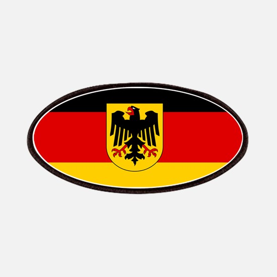 German Government Flag Patches