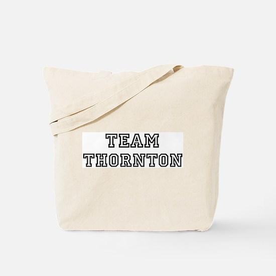 Team Thornton Tote Bag