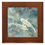 Skyfish Framed Tile