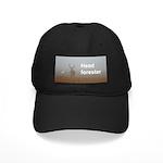 Stag black cap