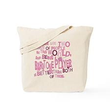 Baritone Player Tote Bag