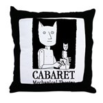 Barecats Throw Pillow