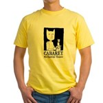 Barecats Yellow T-Shirt