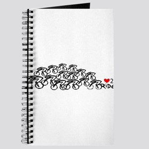 love 2 ride in a bunch Journal