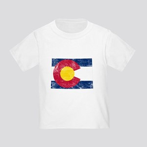 Colorado Flag Map Toddler T-Shirt