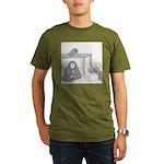 Randy's Nerve (no text) Organic Men's T-Shirt (dar