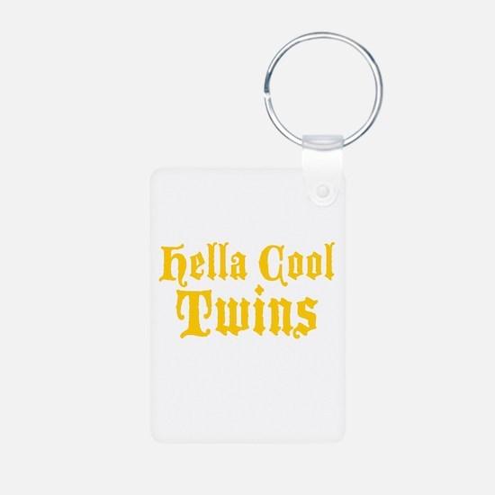 hella Cool Twins Keychains