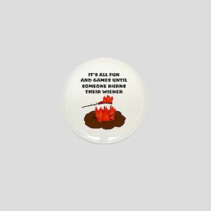 Someone Burns Wiener Mini Button