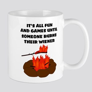 Someone Burns Wiener Mug