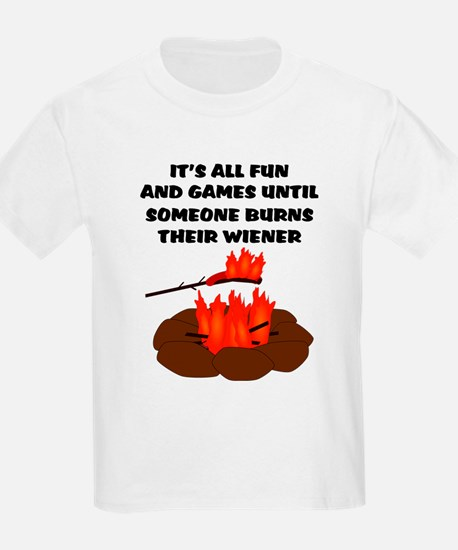 Someone Burns Wiener T-Shirt