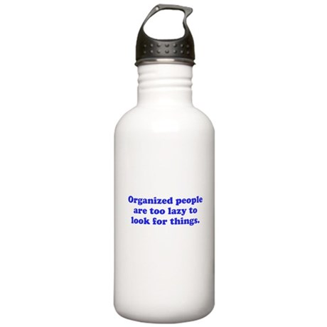Organized People Stainless Water Bottle 1.0L