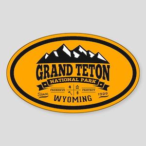 Grand Teton Vintage Sticker